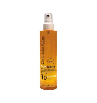 Super tanning oil spray SPF 10