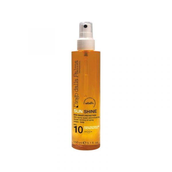 Super tanning oil spray SPF 10