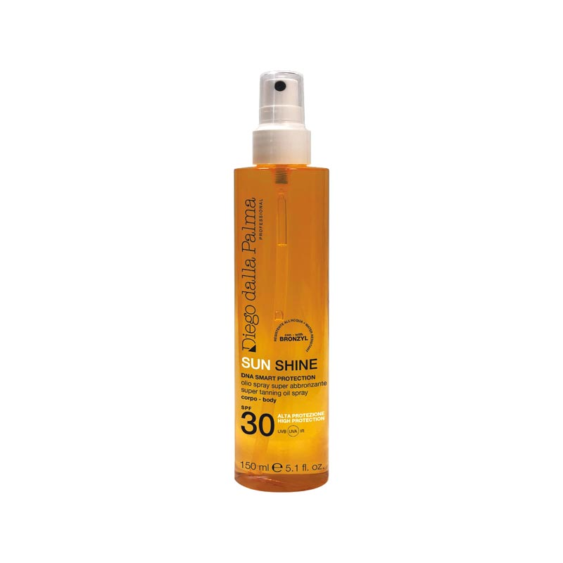 Super tanning oil spray SPF 30